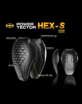 POWERTECTOR CE 2 HEX PRO- S (CE LEVEL 2 파워텍터 헥사 프로 어깨보호대)