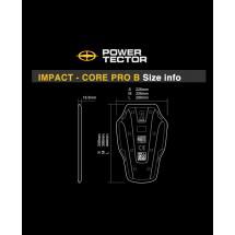 POWERTECTOR CE 2 IMPACTCORPRO B (CE LEVEL 2 파워텍터 임펙트 코어 프로 등보호대)